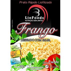 Refeição Frango Desfiado Com Salsa Liofoods