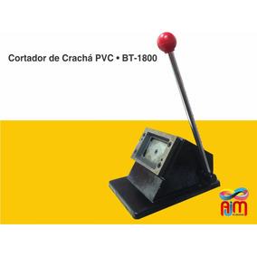 Cortador Para Crachá Pvc Cartão 54x86mm