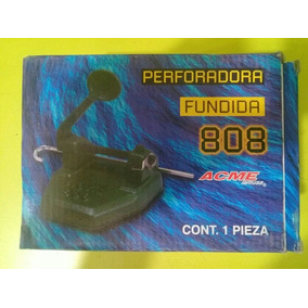 Perforadora De Fierro ( Hierro) Fundido Acme 808 De 2 Hoyos
