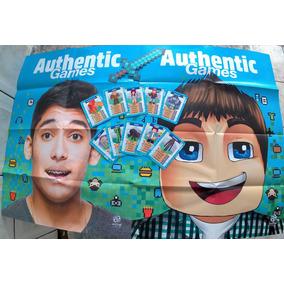 Kit Authentic Games - 2 Marca Página + 1 Pôster + 10 Cards