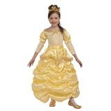 Disfraz Novedades En El Foro Traje De Princesa Hermosa, Oro