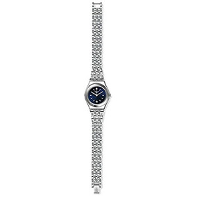 Swatch Womens Irony Yss288g Blue Stainless-steel Swiss Quart