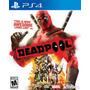 Deadpool Ps4 Juegos Ps4 Delivery
