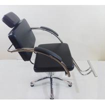 Poltrona Cabeleireiro Naty Cadeira Corte Moveis Salao Cabele