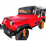 Burbujas Extensiones Jeep Willys Cj4 Cj5 Cj6 Cj7 4x4 4x2