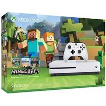 Xbox One S 500gb Minecraft Bundle Limited Edition Niterói Rj