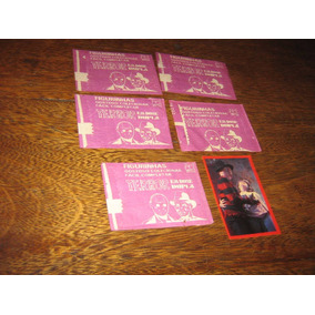 Lote C/5 Envelopes Figurinhas Lacradas Terror Em Dose Dupla