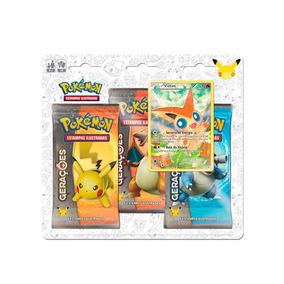 Pokemon Blister Triple Pack Geracoes - Victini Copag Da Amaz