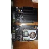 Lote 2 Placas De Video Geforce 8500 Gt 1gb Y Geforce 7300gt