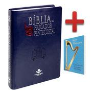 Bíblia Sagrada Pregador Pentecostal + Caixa, Índice + Harpa