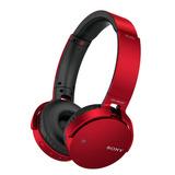 Diadema Sony Bluetooth Extra Bass Mdr-xb650bt/r Rj