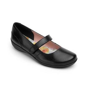 Calzado Zapato Escolar Flexi 17227 Negro Dama Juvenil