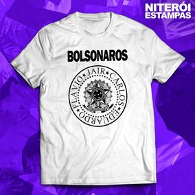 Camisa Bolsonaros (jair, Carlos, Eduardo, Flávio)