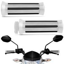 Manopla De Moto Eagle Universal Cromada Custon