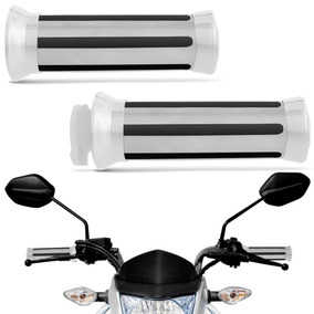 Manopla De Moto Eagle Universal Cromada Custon