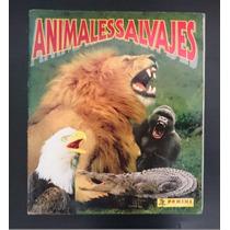 Álbum Panini Animales Salvajes - Completo