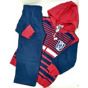 Conjunto Infantil Roupas De Frio Criança Ninando Vermelho