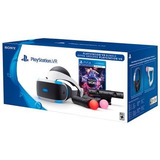 Óculos 3d Sony Playstation Vr Worlds Bundle Ps4 Blu-ray