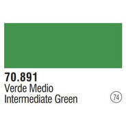 Tinta  Intermediategreen 70891 Model Color Vallejo Modelismo
