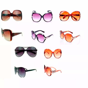 Atacado Lote Cinco Óculos De Sol Masculino Feminino Oferta