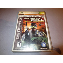 Tom Clancy`s Splinter Cell Pandora Tomorrow Xbox Compati 360
