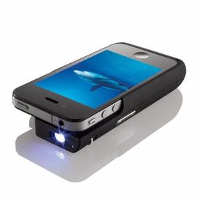 Projector Mini Para Iphone 4 Y 4s Brookstone Funda Cargador