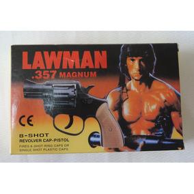 Revolver De Espoleta 80bbs+2cartelas Rambo Envio Imediato