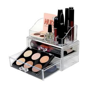 Organizador De Cosmeticos Y Maquillaje Acrilico Desmontable