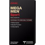 Gnc Mega Men Sport 90caps Gnc Multivitaminico
