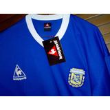 Maradona. Camiseta Argentina (visita) Mexico 86.mano De Dios