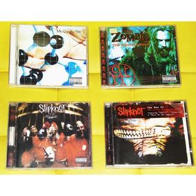 Slipknot Mudvayne E Rob Zombie Cd Música (leia)