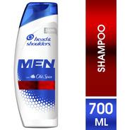 Shampooo Hombre Head Shoulders Old Spice 700 Ml
