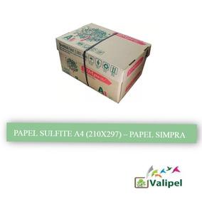 Papel Sulfite A4-resma 500fls (compre Só 6 Resmas / Pedido)