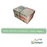 Papel Sulfite A4- 1 Resma 500fls (comprar 6 Resmas / Pedido)
