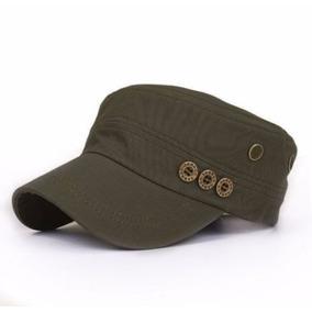 Gorra Cubana Unisex Tipo Militar- Hebilla Ajustable