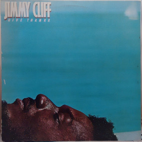 Lp Jimmy Cliff - Give Thankx 1991