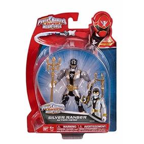 Ranger Prata 12cm Power Rangers S. Megaforce Bandai #38206