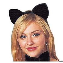 Disfraz Traje De Cultura De La Mujer Gato Orejas Deluxe