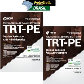 Concurso Trt-pe 2018 - Apostila Técnico Judiciário - Admin