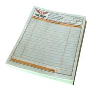 1000 Notas De Venta Con Copia, 1/4 De Carta A Color Foliadas