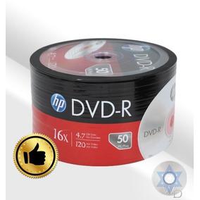Dvd-r Virgen Hp 4.7gb 2x - 16x Oferta!! Torre De 50 Y 100