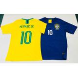Camiseta Brasil Neymar Nenes