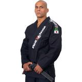 Kimono Jiu Jitsu Red Nose Top World Preto