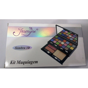 Kit Maquiagem Sombra 3d Cr9316 Jasmyne