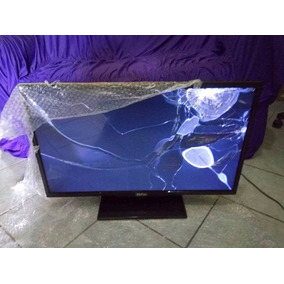 Tv Led Philco - Smat Tv Philco Ph32u20dsg - Tela Trincada