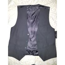 Chaleco De Vestir ,hombre Color Negro Talla M