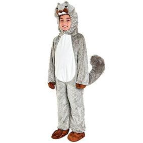 Disfraz Traje De Halloween De La Ardilla Del Niño (tamaño 2
