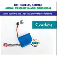 Bateria 3.6v500mah Mini Plug Preto