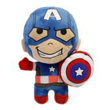 Peluche Capitán América Avengers Assemble Marvel - Mediano (