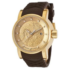 a7eb466ae54 Relógio Invicta Yakuza Automatico 12790 Dourado Masculino